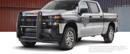 La Chevy Silverado 1500 SSV 2020 está lista para el servicio.