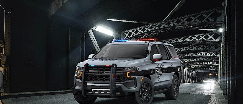Se presentan los nuevos 2021 Chevrolet Tahoe de policia con algunos genes Camaro ZL1