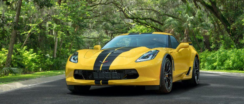 Hertz acaba de poner a la venta más de 20 Corvettes 2019 idénticos de color amarillo con un fuerte descuento