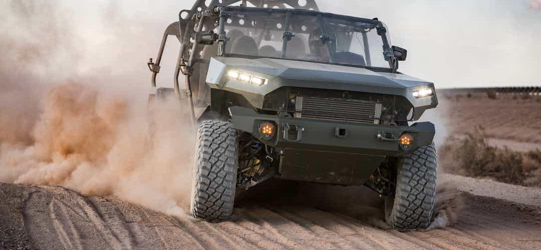 General Motors logra un gran contrato con el ejército de 214.3 millones de $ para proporcionar el transporte de tropas.