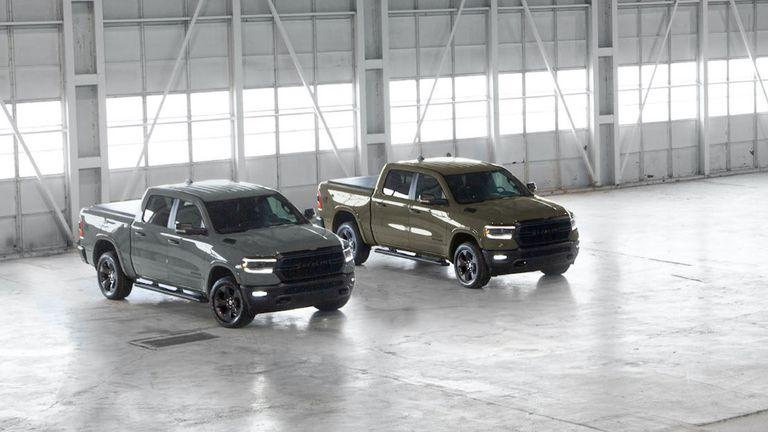 La edición Ram 1500 'Built to Serve' regresa con nuevos colores para honrar a los militares.