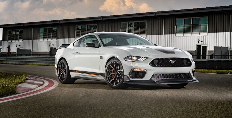 Conoce el nuevo Ford Mustang Mach 2021 1