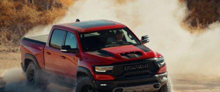 Con un motor V8 sobrealimentado de 702CV, la nueva Ram TRX competirá Ford Raptor