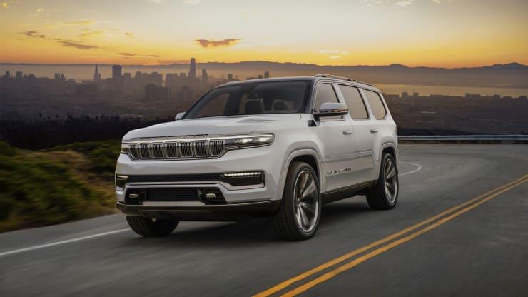 Jeep apunta al segmento de lujo con el SUV Grand Wagoneer de 100.000$