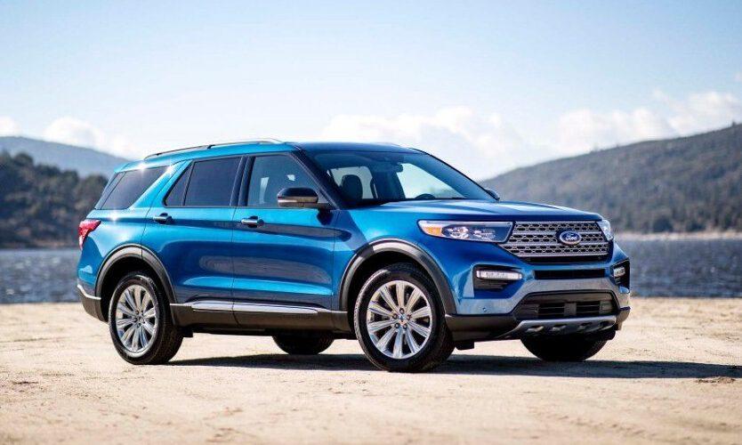 El Ford Explorer 2020 obtiene la máxima puntuación durante las pruebas de seguridad del IIHS