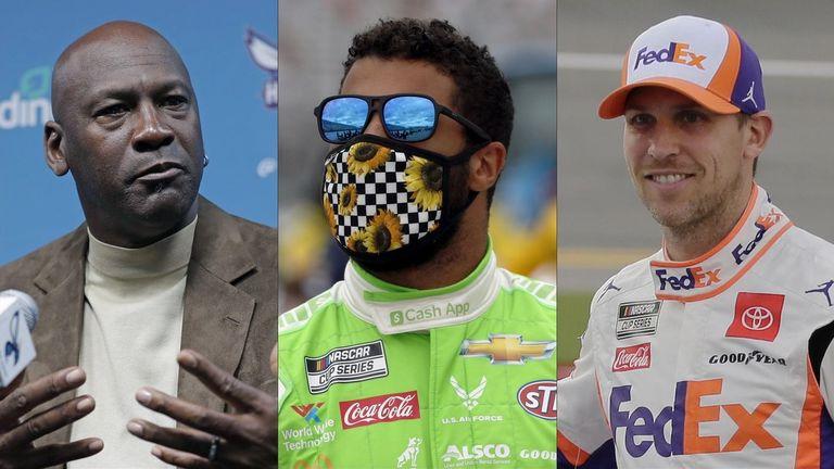 Denny Hamlin y Michael Jordan lanzan un nuevo equipo de la Copa NASCAR