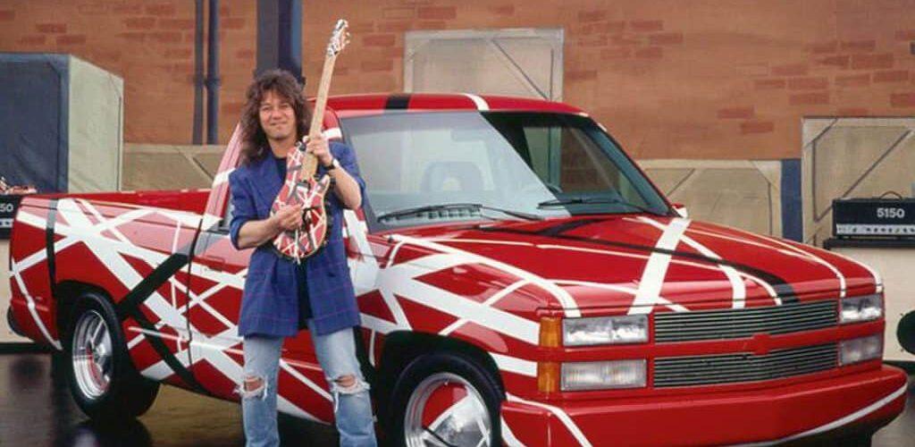 Eddie Van Halen era un fanático de Chevrolet