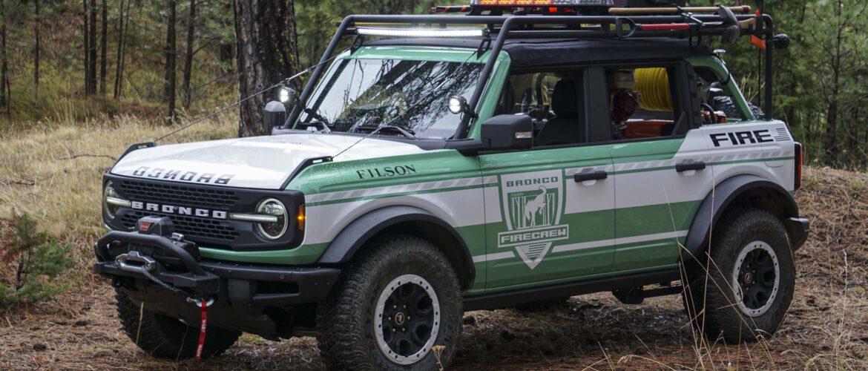 FORD BRONCO WILDLAND FIRE RIG CONCEPT, contra los incendios forestales