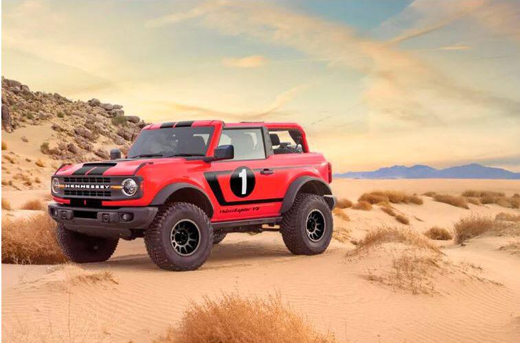 Hennessey promete un Ford Bronco con V8 sobrealimentado