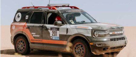 "Un Ford Bronco Sport ""de serie"" gana en su clase la Rebelle Off-Road Rally"