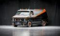 Una de las seis furgonetas del Equipo A de 1979, será subastada.