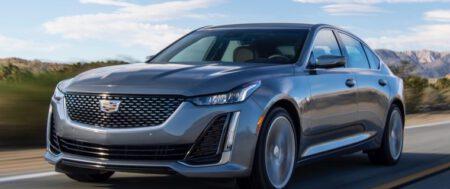 El Cadillac CT5 550T 2021 obtiene mayor eficiencia en consumo que el modelo 2020