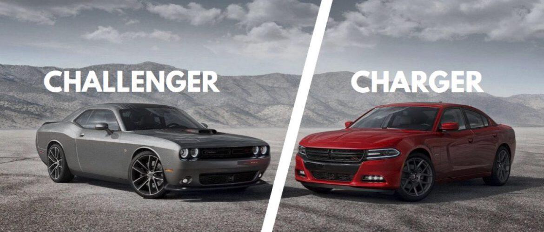 ¿Dodge Challenger o Charger?