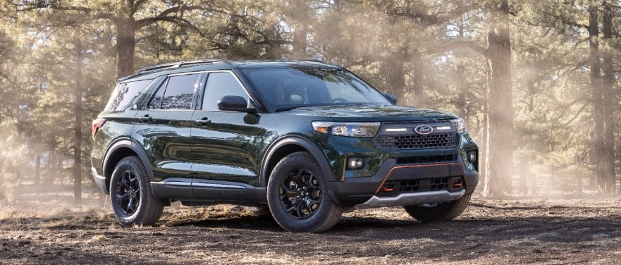 Ford amplía su gama SUV resistentes con el nuevo Ford Explorer TIMBERLINE: el Explorer más apto para el todoterreno de todos los tiempos.