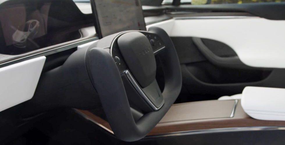 El Tesla Model X finalmente obtiene la dirección YOKE, también.